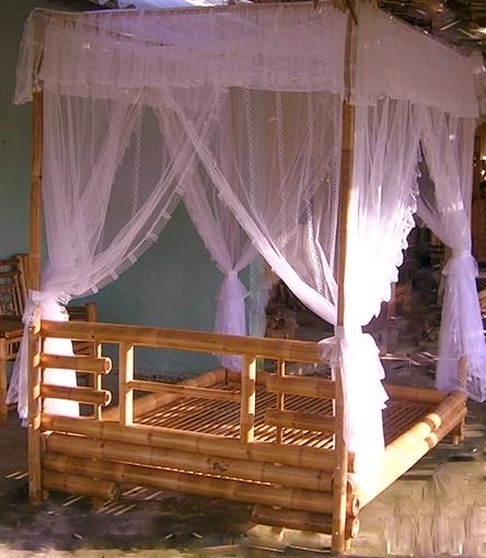 Add Natural Beauty, Tropical Theme To Your Romantic Bedroom W/ Bamboo Bed,  Bamboo Bed For Sale,four Poster Beds,poster Bedroom Sets Sale,modern Bed  With ...